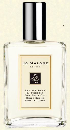 Dry Body Oil English Pear & Freesia, Jo Malone