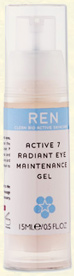 Active 7 Radiant Eye Maintenance Gel, Ren