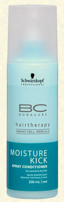 Bonacure Moisture Kick Spray Conditioner, Schwarzkopf