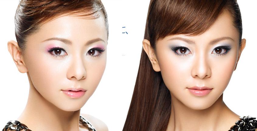 Красивый макияж для азиатский глаз
