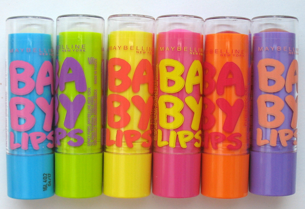 Все помады baby lips