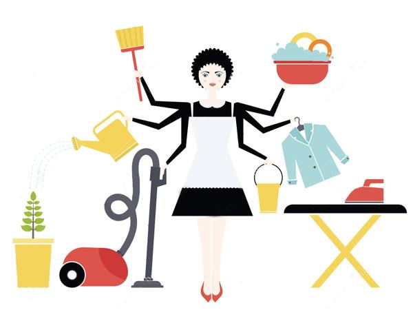 Работа домохозяйки – быстро и легко!