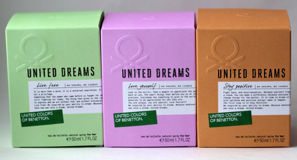 be9e77897ce1 Коллекция ароматов United Dreams, United Colors of Benetton
