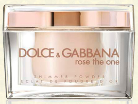 Rose The One Shimmer Powder, Dolce&Gabbana