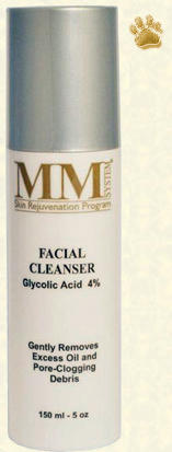 Facial Cleanser Glycolic Acid 4%, Mene & Moy System