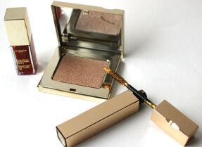 Новогодняя коллекция Clarins Prete-a-Briller – свотчи, отзывы и макияжи