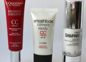Тесты СС-кремов: L'Occitane, Smashbox, Sampar