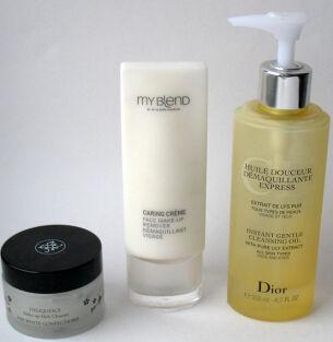 Сравнительные тесты средств для снятия макияжа: Rouge Bunny Rouge, My Blend, Dior