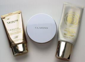 Тесты тональных средств: Skin79, Clarins, TonyMoly