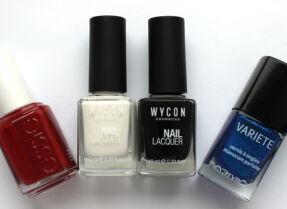 Мои лаки для ногтей: Essie, Wycon, Л'Этуаль