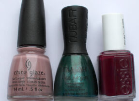 Мои лаки для ногтей: China Glaze, Nubar, Essie
