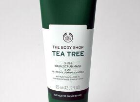 Очищающее средство The Body Shop Tea Tree 3-in-1 Wash Scrub Mask