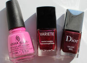 Мои лаки для ногтей: China Glaze, Л'Этуаль, Dior