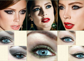 Зимняя коллекция макияжа L'Oreal Extravaganza — макияжи «дикой кошки»