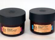Скрабы для тела из коллекции The Body Shop Oils of Life: Dead Sea Salt и African Ximenia