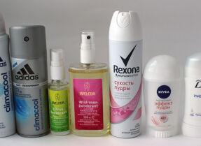Тесты дезодорантов: Adidas, Weleda, Rexona, Nivea, Dove