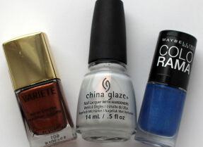 Мои лаки для ногтей: China Glaze, Л'Этуаль, Maybelline