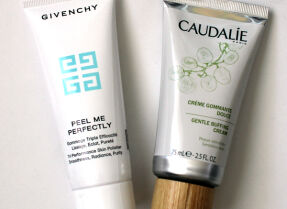 Скрабы Givenchy Peel Me Perfectly и Caudalie Gentle Buffing Cream – в погоне за мягкостью