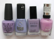Обзор моих лаков: O.P.I., Dance Legend, Sally Hansen, Avon