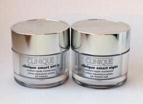 Мой уход за кожей: дневной и ночной кремы Clinique Smart