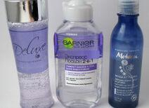 Средства для снятия макияжа с глаз LR Health & Beauty Systems, Garnier, Melvita: полевые испытания
