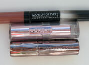 Тесты помад: L'Oreal, Urban Decay, Make Up For Ever