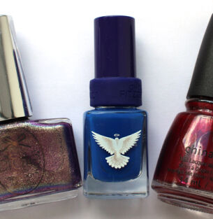 Мои лаки для ногтей: Ciate, Christina Fitzgerald, China Glaze