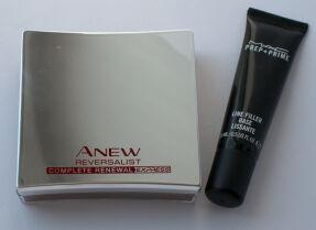 Филеры Avon Anew Reversalist Complete Renewal Express и MAC Prep + Prime Line Filler