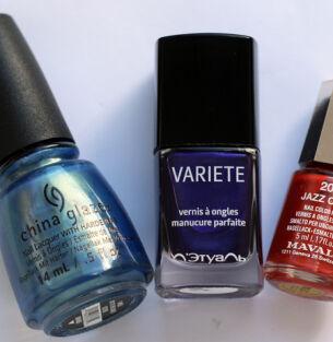 Мои лаки для ногтей: China Glaze, Л'Этуаль, Mavala