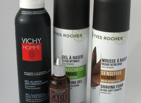 Тесты средств для бритья: Vichy L'Occitane