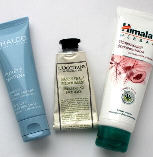 Очищающие маски Himalaya, L'Occitane, Thalgo – зимний уход за кожей