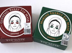 Патчи под глаза Shangpree Marine Energy и Ginseng Berry Eye Mask