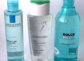 Сравнительные тесты мицеллярной воды: La Roche-Posay, Vichy, Dolce Milk