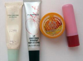 Тесты бальзамов для губ: June Jacobs, M.A.C., The Body Shop, Winx