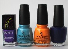 Мои лаки для ногтей: Л'Этуаль, China Glaze, O.P.I.