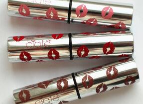 Помада Ciate Pretty Styx, три оттенка: розовый, красный и коричневый