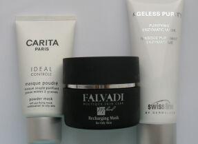 Тесты очищающих масок: Carita, Falvadi, Swiss line