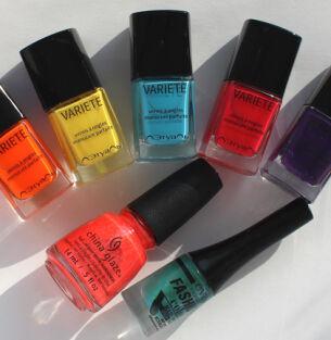 Мои лаки для ногтей: China Glaze, Eva Mosaic, Л'Этуаль