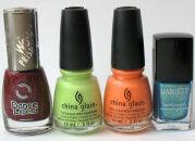 Мои лаки для ногтей: Dance Legend, China Glaze, Л'Этуаль