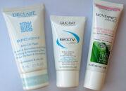 Тесты очищающих масок: Declare, Ducray, NOVExpert