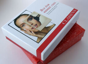 Июльская коробочка GlamBox и лимитированная коробочка All About Eyes, Clarins