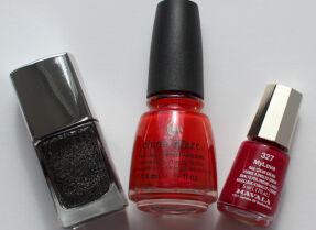 Мои лаки для ногтей: Л'Этуаль, China Glaze, Mavala