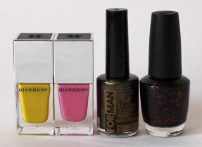 Мои лаки для ногтей: Givenchy, Dance Legend, O.P.I.