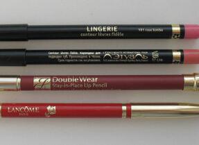 Тесты карандашей для губ. Часть I