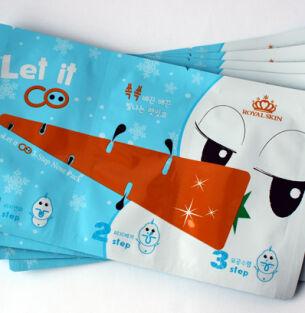 Трехступенчатая система чистки пор Royal Skin Let it Co 3-step Nose Pack