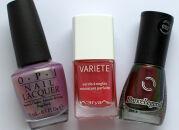 Мои лаки для ногтей: OPI, Л'Этуаль, Dance Legend