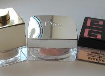 Тесты рассыпчатых пудр: Clarins, Dior, Givenchy