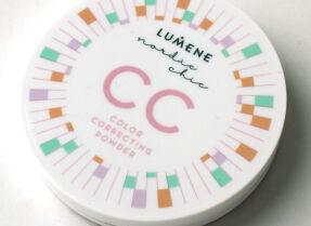 Компактная пудра с эффектом цветокоррекции Lumene Nordic Chic CC Color Correcting Powder