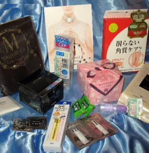 Посылка с косметикой из Японии