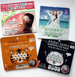 Паровые маски для глаз Kao, SNP и Nuan Shan – впечатления и сравнительный отзыв